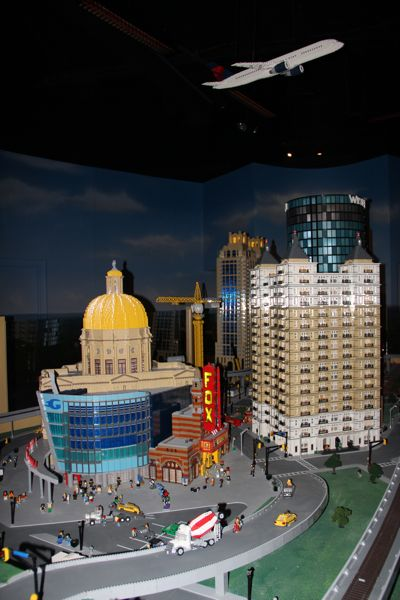Atlanta built in miniature with legos