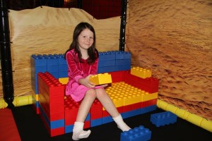 LEGOLAND couch creation