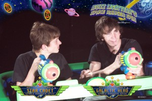Buzz Lightyear ride at Disney World