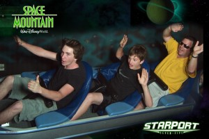 Space Mountain at Disney World