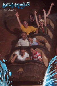 Splash Mountain ride at Disney