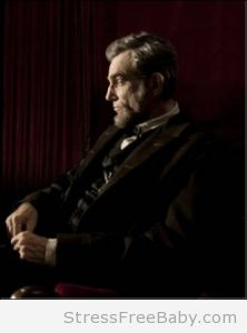 Daniel Day Lewis in the title role of LINCOLN directed by Steven Spielberg