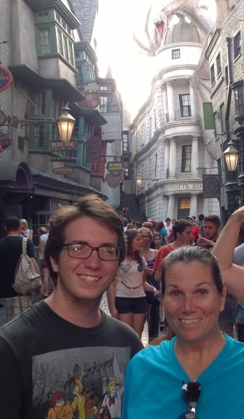 des payne first in diagon alley