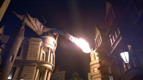 dragon fire night
