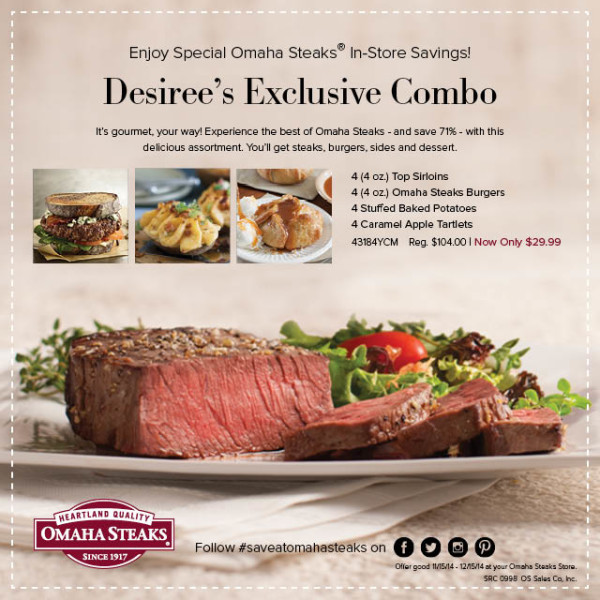 Omaha Steaks Coupon