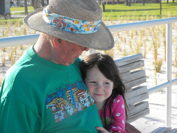 My dad and daughter. This was taken six months before we lost him.