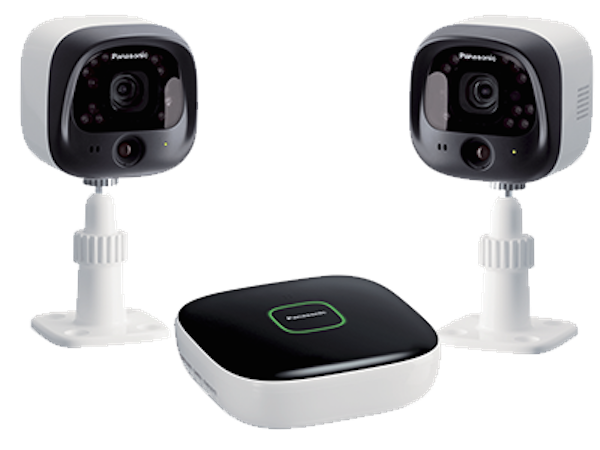 Panasonic Wireless Home Security Cameras