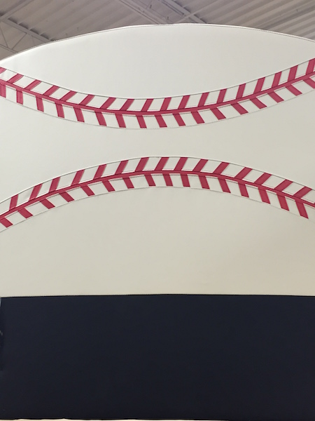 baseball headboard