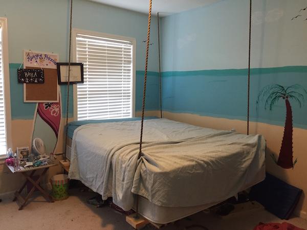 bedroom before updating