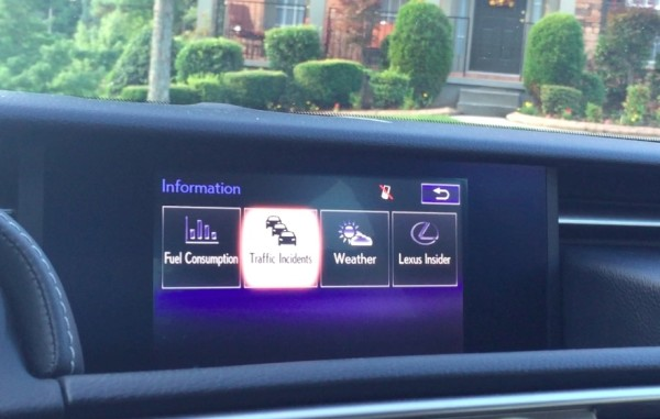 lexus traffic and weather