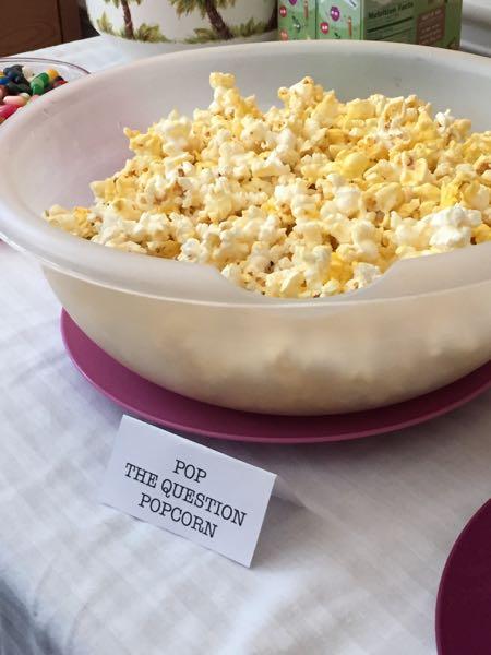 pop the question popcorn