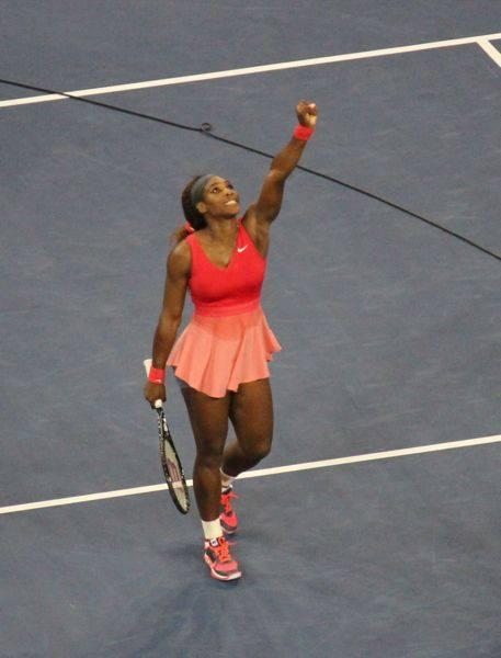 Serena Williams Victory Wave