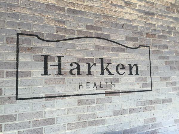 harken health on wall