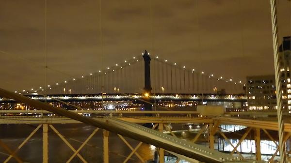 subway crossing bridge