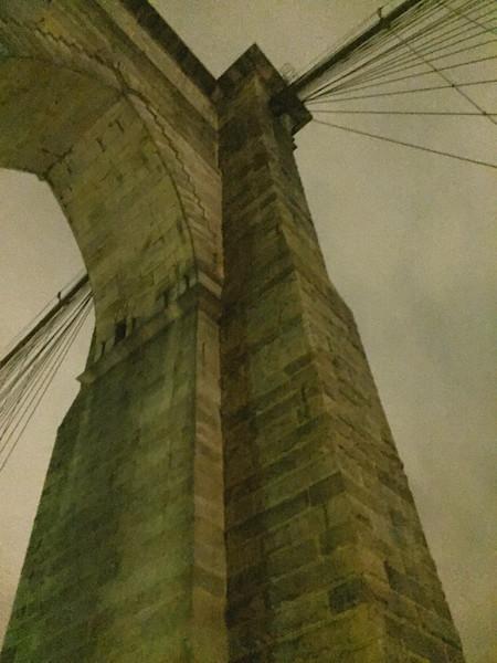 under bridge arch