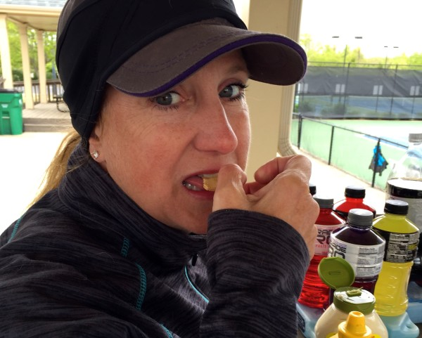 julie snacking