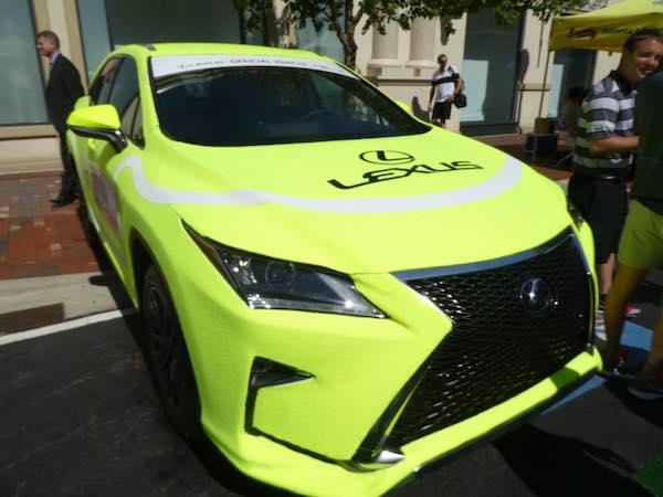 lexus fuzzy car