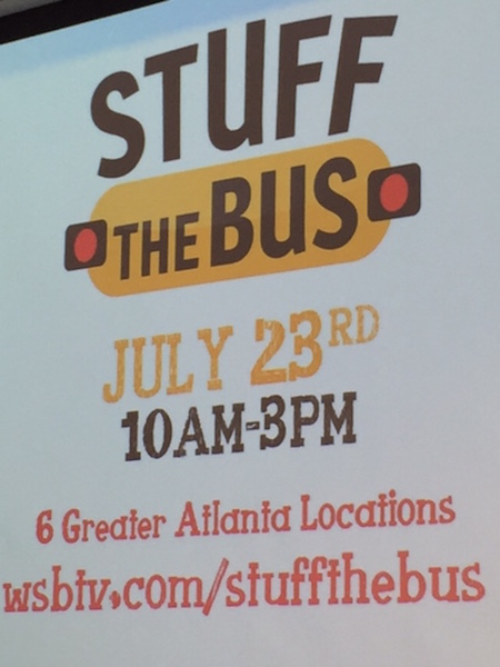 Back to School Time Means Time to StufftheBus