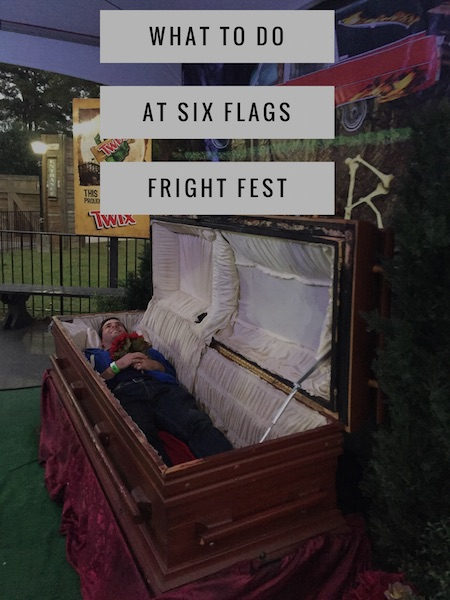 Six Flags over Georgia Fright Fest: Yes, It Will Scare You on Stress