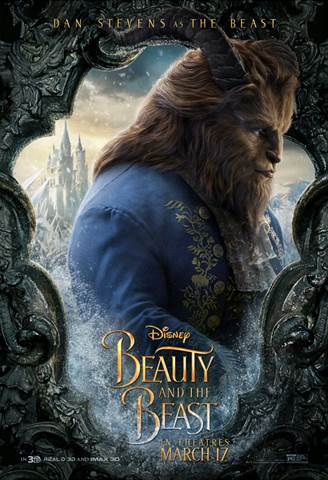 Dan Stevens as Beast from Beauty and the Beast