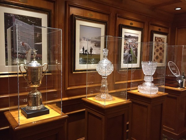 pebble beach golf trophies