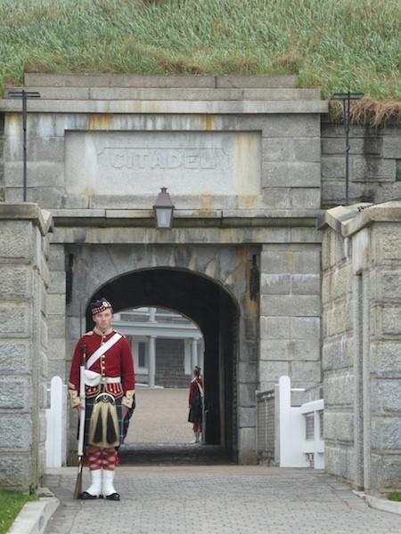 Citadel Hill in Halifax, Nova Scotia.