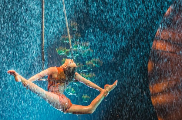 rain on stage