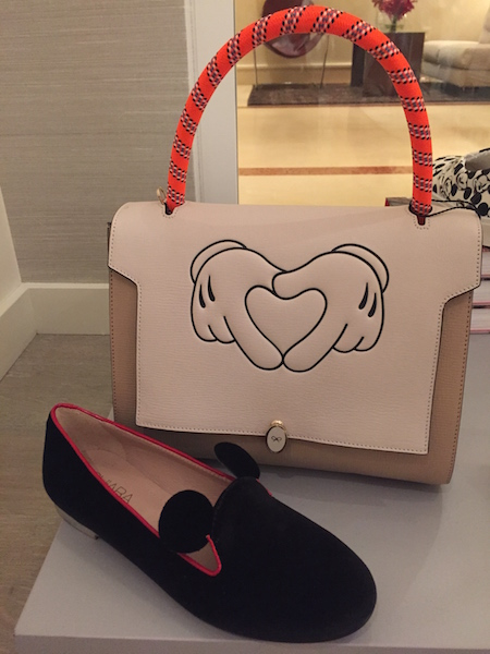 Anya Hindmarch Mickey Bag And Slippers